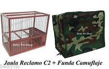 cage de RÉCLAMATION C2 avec COUVERTURE incluse CHARDONNERET,OISEAU,CANARIES,