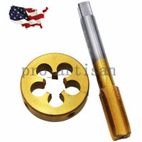 "1/2""-28 Tap & Die Set Titanium Coated  High Quality (1/2"" x 28) 22LR 223 5.56 9m"
