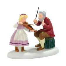 Dept 56 Alpine Village Octoberfest Debut Violin Teacher Girl Figure 4025240 New