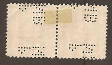USA Perfin. P NB (2 escaneos) Louisa May Alcott