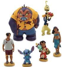 Disney Store Lilo & Stitch Figurine Playset 6 Figure Set - New