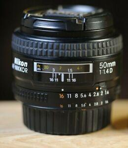 Nikon Nikkor 50mm f/1.4 D  Lens