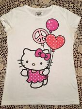 "Girls Old Navy ""Hello Kitty"" Graphic T-Shirt sz Large 12"