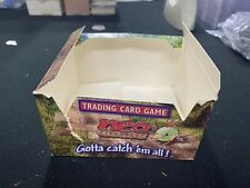 Pokemon Neo Discovery Booster Box Display - Empty (Damaged)