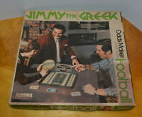 VINTAGE AURORA JIMMY THE GREEK FOOTBALL ODDS MAKER BOARD GAME SPORTS COLLECTIBLE