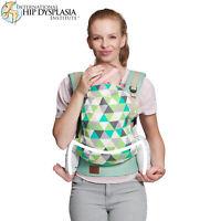 Kinderkraft Nino Baby Carrier - Mint - Ergonomic Carrier / Sling 100% Cotton
