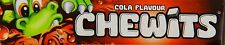 30x 30g. CHEWITS COLA FLAVOUR LONG BEST BEFORE DATE FREE & FAST POST