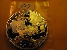 Canada Transcontinental Railway 1981 Silver Dollar Mint Grade ID#B89.