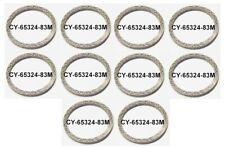Exhaust Flat Steel Mesh Crush Gaskets Seals Lot of 10 Harley Twin Cam 65324-83