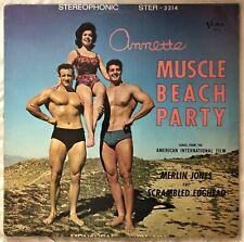 Muscle Beach Party - Annette - 1964 NZ Mono - VG+ / VG+ Vinyl LP