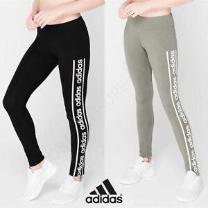 ADIDAS Womens Leggings Ladies Yoga Gym Fitness Pants Size 10 12 14 16 18 S M L