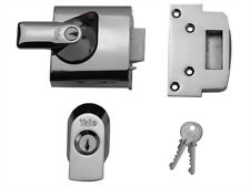Yale BS1 Nightlatch British Standard Door Lock 60mm Chrome Finish