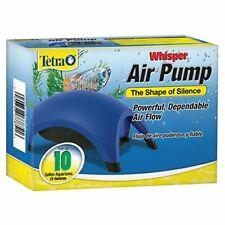 Tetra Whisper Silent Air Pump 10-100 Gallon Water Aquarium Fish Tank Flow Filter