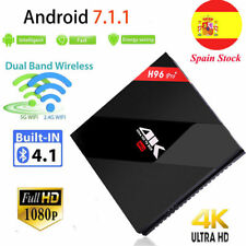 H96 Pro+ Android Smart Tv Box 7.1 Amlogic S912 Octa Core 3G/32G Wifi 4K SPAIN