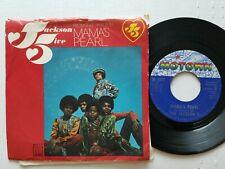 "THE JACKSON 5 - Mama's Pearl / Darling Dear 1971 MOTOWN SOUL 7"" p/s Michael"