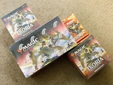 Magic Ikoria Lair Of Behemoths Booster Box Collector Pack & 2 Prerelease Kit Lot