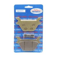 Lyndall LRB Gold Plus Rear Brake Pads for Harley 87-99 FXST FLST Softail 7058 G+