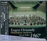 Bach Sibelius Barber Eugene Ormandy PO Live in Tokyo 1967 CD w/OBI NEW/SEALED