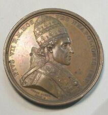 Medaille Napoleon  1804   Papst Pius VII  zur Krönung in N.D.