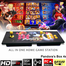 2018 Pandora Box 4S 800 Video Games in 1 Home Arcade Console Gamepad HDMI V