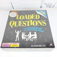New LOADED QUESTIONS Classic Family & Party Game Trivia 4-6 players Sealed