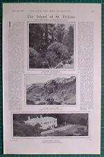 1900 BOER WAR ERA ~ ST HELLENA GOVERNMENT HOUSE SANDY BAY NAPOLEON TOMB