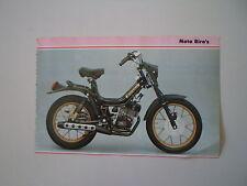 - RITAGLIO DI GIORNALE ANNO 1982 - MOTO BIRO'S GRINTA RL 50
