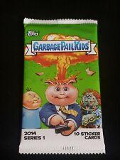 Garbage Pail Kids 2014 Series 1 Unopened//Sealed Sticker Cards Pack