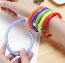 ballpoint pen flexible creative bracelet pen gift for children school cute pen