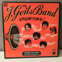 "J. GEILS BAND - Showtime - 12"" Vinyl Record LP - EX"