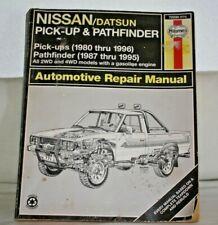 Haynes Manual for Nissan/Datsun Pick-up & Pathfinder 1980-96, Repair Paperback B