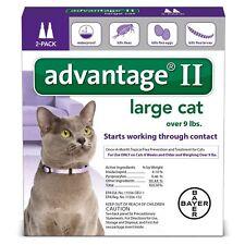 Bayer Advantage Ii Flea Control for Pet Cats Over 9lbs