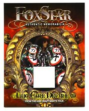 KISS - Eric Carr - Foxstar Official Drum Skin Card OOP First Edition #157
