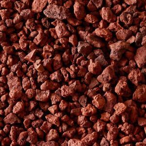 Red Lava Rock for Aquarium Bbq  Fireplace Gas Grill -- Full Box11x8x5 inch