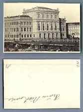 Hongrie, Budapest La Nouvelle Académie  vintage carte de visite, CDV,  CDV, ti