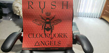 Rush Clockwork Angels 2012 LiveNation Vip poster. #1375 out of 8500.