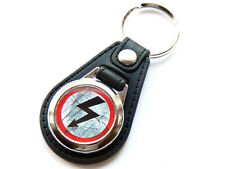 More details for marilyn manson antichrist superstar metal band quality leather & chrome keyring