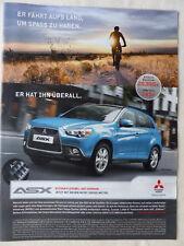 Mitsubishi ASX Edition - Werbeanzeige Reklame Advertisement 2011 __ (001