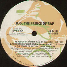 B.G. The Prince Of Rap - The Power Of Rhythm - Epic - 49 74287 - Usa