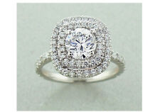 Diamond 2.05 Carats Engagement Ring Set in Platinum