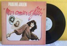 PAULINE JULIEN -MES AMIES D'FILLES- 1978 CANADIAN LP GATEFOLD COVER CHANSON
