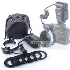 VILTROX JY-670N i-TTL Macro Ring Flash Speedlite For Nikon D750 D3300 D7100