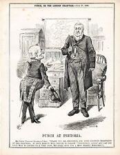 1896 Punch Cartoon Punch at Pretoria Oom Paul Leyds Prisoners
