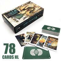 78Pcs Cards Wild Wood Tarot Cards Game Beginner Deck Vintage Fortune Telling