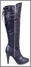 Motorcycle Slim Heel Boots for Women