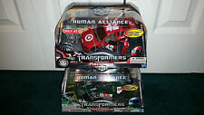 Leadfoot Target Exclusive + Roadbuster Human Alliance DOTM Transformers MISP NEW