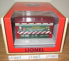 LIONEL 6-37187 CHRISTMAS KRIS KRINGLE'S CLOSEOUT SHOP TOY TRAIN BUILDING O GAUGE