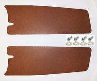 New! 1965 - 1966 Ford MUSTANG Trunk Filler Board Left and Right Side Pair w/ HW