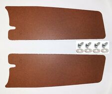 New! 1964-1966 Ford MUSTANG Trunk Filler Board Left and Right Side Pair w/ HW