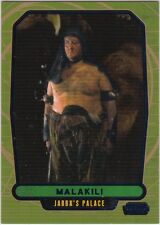 star wars galactic files serie 2 blue parallel #371 malakili 229/350